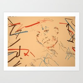 Looking for... Art Print