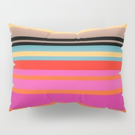 Sunset Stripes Pillow Sham