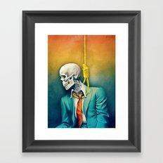 9-5 Grind Framed Art Print