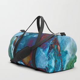 Torn Duffle Bag