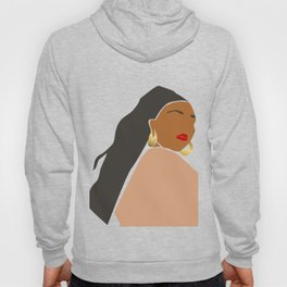 Lizzo Abstract Portrait Hoody