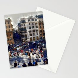 The Spanish Steps 4138 - Rome, Italy Stationery Cards
