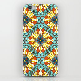 Kaleidoscopic Australia's Animals iPhone Skin