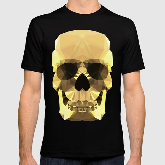 Polygon Heroes - Gold Skull T-shirt