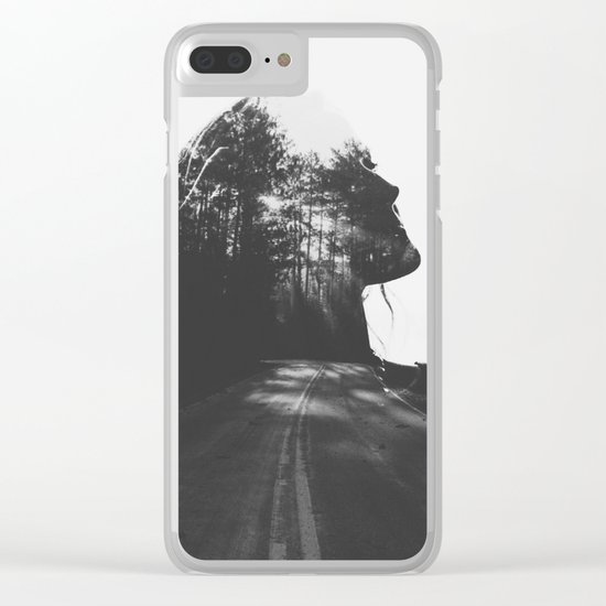 Homesick for places Ive never been Clear iPhone Case