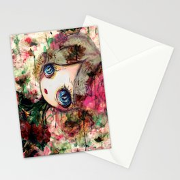 Creature in Bloom Stationery Cards