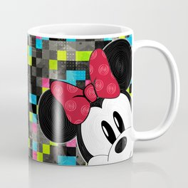 Minnie Swirl Pop Art Coffee Mug