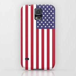 USA flag - Hi Def Authentic color & scale image iPhone Case