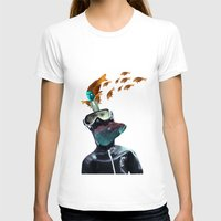 yellow submarine T-shirts featuring SUBMARINE by Momenti Riciclati