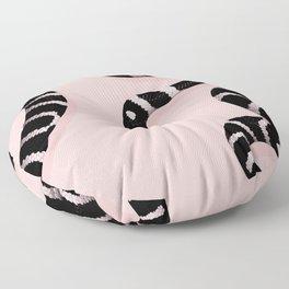 Snake Pink Floor Pillow