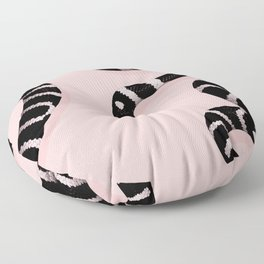 Snake Pink Floor Pillow