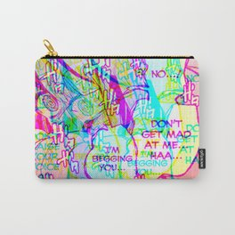 Sad anime aesthetic - begging Carry-All Pouch