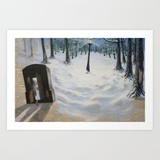 Through the Wardrobe Art Print