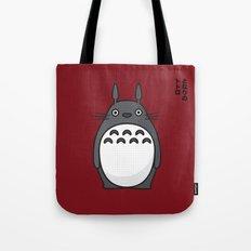 Totoro Pop Art - Red Version Tote Bag