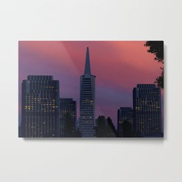 Four and One - San Francisco Metal Print