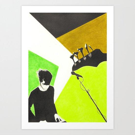 Jo Art Print