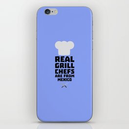 Real Grill Chefs are from Mexico T-Shirt D6gf1 iPhone Skin