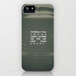 LOST ASTRONAUT iPhone Case