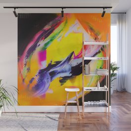 Color Bomb Wall Mural