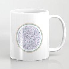 Circle: blue and beige Mug