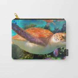 Turtles by a Reef Carry-All Pouch