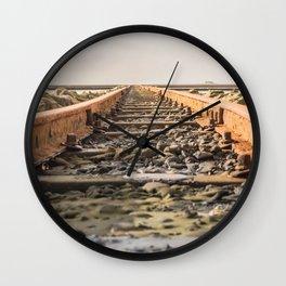 Seaside Railway Wall Clock