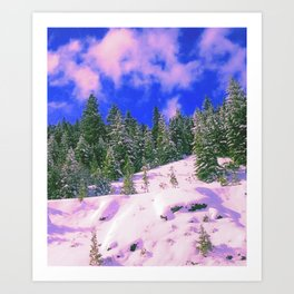 Cali Dreamy Art Print