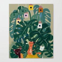 Tiny Houses Canvas Print