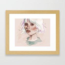 it's a revolution i suppose Framed Art Print