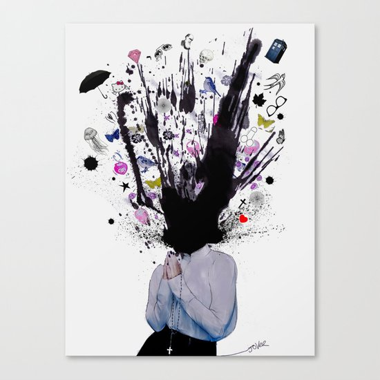 losing faith Canvas Print