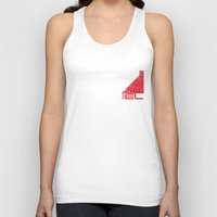 n7 Tank Tops featuring N7 Sentinel by Draygin82