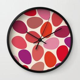 lipstick touch Wall Clock