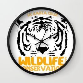 Wildlife Conservation Club Wall Clock