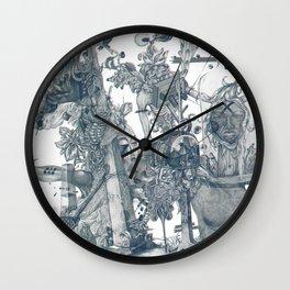 seam imaginations Wall Clock