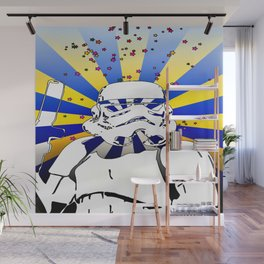 Psychedelic Trooper 2 Wall Mural