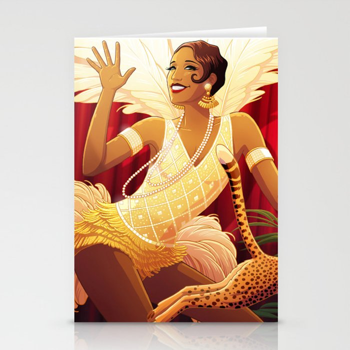 Josephine Baker Stationery Cards