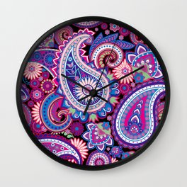 Paisley Wall Clock