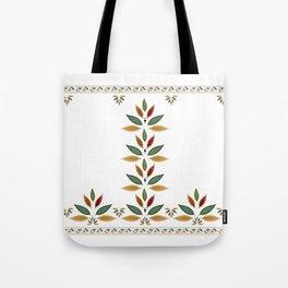 """Tree of Polka Dots Leaves"" Tote Bag"