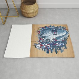 A GHOST IS BORN Rug