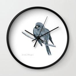 Black-Eyed Junco by Teresa Thompson Wall Clock