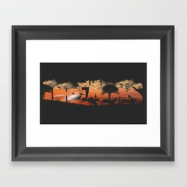 Chasing Dreams Framed Art Print