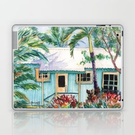 Tropical Vacation Cottage Laptop & iPad Skin