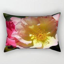 Prettyness Of A Rose Rectangular Pillow