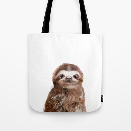 Little Sloth Tote Bag