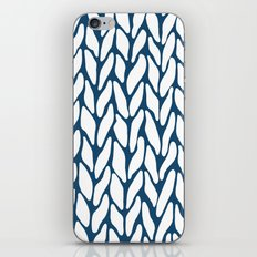 Hand Knitted Navy iPhone & iPod Skin