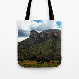 Painted Southern Arizona Greenery Tote Bag
