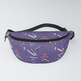 Mascara on my eyes - Violet Fanny Pack