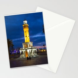 Clock tower. Stationery Cards
