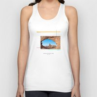parks Tank Tops featuring National Parks: Arches by Roadtrippers