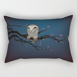 Night Owl Rectangular Pillow